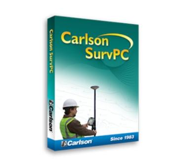Carlson SurvPC - einfach Vermessen